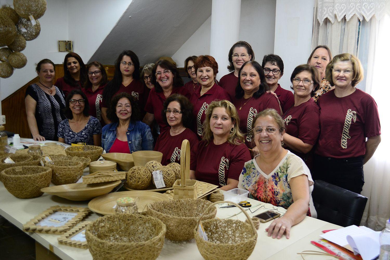 Adesivo Decorativo Para Potes De Vidro ~ Lages mostrará seu artesanato no Rio de Janeiro u2013 Notícia no Ato